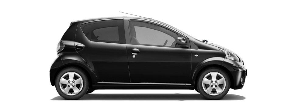Toyota Aygo fra Asker Bilutleie