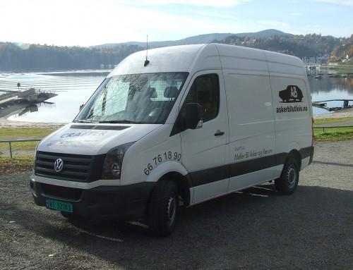 Gruppe T: Vare-/flyttebil eks. VW Crafter