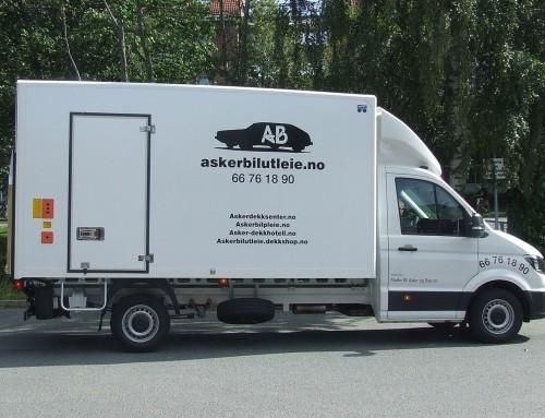 Gruppe V: Vare-/flyttebil eks. 19 m3